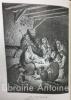L'Imitation de Jésus-Christ avec des réflexions à la fin de chaque chapitre par l'abbé F. de Lammenais. 16 gravures d'après les compositions de G. ...