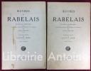 Oeuvres de Rabelais. Texte collationné sur les éditions originales avec une vie de l'auteur, des notes et un glossaire par Louis Moland. Illustrations ...