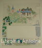 Enfantines. Lithographies originales en couleurs de Pierre Eugène Clairin.. LARBAUD (Valery). CLAIRIN (Pierre-Eugène).
