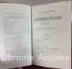 L'Homme-Femme. Réponse à M. Henri d'Ideville. Deuxième édition. . DUMAS FILS (Alexandre)