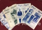 Paris qui chante. Lot de 25 numéros parus entre le 18 août 1907 et le 9 mars 1912:  n°239 (Lidia), 289 (Dufleuve), 290 (Georges Charton), 298 (Xavier ...