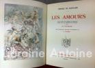 Les Amours. Texte établi sur l'édition de MDLX [1560] et publié avec les additions de l'auteur par Ad. Van Bever. Illustrations originale en couleurs ...
