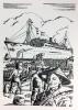 Le centenaire des services des messageries maritimes (1851-1951). Bois composés et gravés par Patrick de Manceau. . SIEGFRIED (André). THARAUD (Jérome ...
