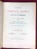 Catalogue des tableaux anciens et modernes, objets d'art et d'ameublement composant la collection Mame de Tours  et dont la vente aura lieu à Paris ...