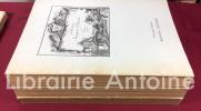 Collection Jacques Doucet. Dessins, pastels, sculptures, tableaux, meubles et objets d'art du XVIIIe siècle. Notices de Emile Dacier (dessins), Marcel ...