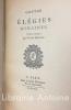 Elégies romaines traduites en français par Victor Bernard.. GOETHE (Johann Wolfgang von)