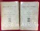 Un Anglais à Paris. Notes et souvenirs I : 1835-1848 - II : 1848-1871. Traduit de l'anglais par J. Herce.. [DRESDEN VANDAM (Albert)]