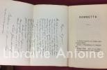 Gambetta. Deuxième édition avec portrait et autographe. . ROUQUETTE (Jules)