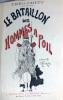 Le Bataillon des hommes à poil. Croquis d'Henriot.. THEO CRITT (Théodore Cahu, dit). HENRIOT