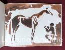 Aux courses. Carnet d'aquarelles et dessins. . LEYGUE (Louis)