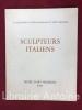 Sculpteurs italiens. Catalogue de la IIe Exposition internationale du Petit Bronze. Musée d'art moderne de Paris. Novembre décembre 1968. [SCULPTURE ...