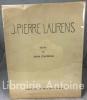 Jean-Pierre Laurens. Texte de Jean Guitton.. [LAURENS (Jean-Pierre)] GUITTON (Jean)