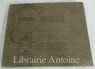 Album de photographies en noir et blanc de l'atelier de sculpture de Charles Emile Jonchery.. [SCULPTURE]