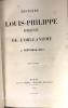 Histoire de Louis-Philippe d'Orléans et de l'orléanisme.. CRETINEAU-JOLY (J.)