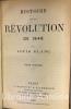 Histoire de la Révolution de 1848.. BLANC (Louis)