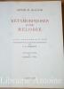 Métamorphose d'une mélodie. Texte adapté du Yiddish par Maximilien Rubel. Vingt gravures sur bois inspirées par le contes hassidique de I.L. Peretz.. ...