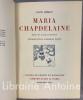Maria Chapdelaine. Récit du Canada français. Introduction d'Edlont Pilon. Illustrations par Jean Droit.. HEMON (Louis). DROIT (Jean)