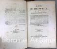 Manuel du bibliophile, ou traité du choix des livres contenant des développements sur la nature des ouvrages les plus propres à former une collection ...