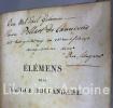 Elémens de la langue hollandaise. Seconde édition.. LAUTS (Ulrich Gerard)