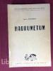 Hadrumetum. Collection des Publications de l'Université de Tunis.. FOUCHER (Louis)