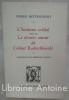 L'Homme-cristal, suivi de Le dernier Amour du Colonel Radoschkovski. Collection Entre 4 Yeux.. Bettencourt (Pierre).
