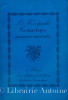Le Keepsake Fantastique. Poésies, chroniques et essais. Théâtre inédit, corrrespondance publiés par Bertrand Guégan avec des notes bibliographiques.. ...