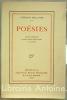 Poésies. Edition complète contenant plusieurs poèmes inédits et un portrait.. MALLARME (Stéphane).