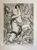 La Tentation de Saint Antoine. Gravures au burin de R. Brechenmacher. . FLAUBERT (Gustave). BRECHENMACHER (Raymond).