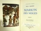 Marion des neiges.. Martet (Jean).