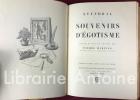 Souvenirs d'égotisme ornés de bois gravés.. STENDHAL (Henri Beyle).