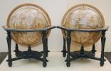 Globe terrestre et globe céleste. GREUTER, Matthæus