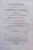Rapport fait à l'Assemblée Nationale, le 8 mars 1790, au nom du Comité des Colonies.. BARNAVE (Antoine)