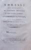 1- Adresse des membres de l'Assemblée provinciale du Nord de Saint-Domingue, à l'Assemblée Nationale, séante à Paris (...). Séance du soir, 13 octobre ...