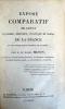 Exposé comparatif de l'état financier, militaire, politique et moral de la France et des principales puissances de l'Europe.. BIGNON (Baron ...