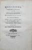 Questions importantes sur quelques opinions religieuses, par le citoyen Palissot, publiées pour la première fois le 30 novembre 1791. Troisième ...