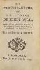 Le Procès sans fin, ou l'Histoire de John Bull, Publiée sur un Manuscrit trouvé dans le Cabinet du fameux Sire Humfroy Polesworth, en l'année 1712. ...