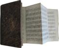 1- ALEMBERT (Jean Le Rond d'). Elémens de Musique théorique et pratique, suivant les principes de M. Rameau (...). Nouvelle édition, revue, corrigée & ...
