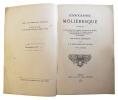 Iconographie molièresque contenant la liste générale et complète des portraits de Molière, et celle des suites de vignettes publiées jusqu'aujourd'hui ...