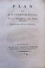 Plan de M. le vicomte de Macaye, pour l'Etablissement d'une Banque Nationale. Imprimé par ordre de l'Assemblée.. MACAYE (Pierre-Nicolas de Haraneder, ...