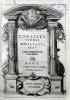Constitutiones societatis Jesu cum earum declarationibus.. LOYOLA (Ignacio de)