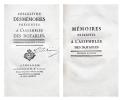 Collection des Mémoires présentés à l'Assemblée des Notables. Première et seconde division.. DUPONT DE NEMOURS (Pierre-Samuel) rédacteur