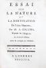 Essai sur la nature et la destination de l'Ame Humaine (...). Traduit de l'Anglois, sur la dernière Edition revue & corrigée par l'auteur.. COLLINS ...