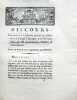 Discours prononcé à l'Assemblée générale des Actionnaires de la Caisse d'Escompte, le 17 Novembre 1789.. LAVOISIER (Antoine Laurent)