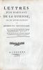 Lettres d'un habitant de la Guienne, sur les administrations ou Assemblées Provinciales. [i.e. Lettres d'un habitant de la Guyenne].. [DUVIGNEAU ...