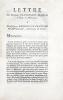 Lettre de Michel Blanchard, magister du village de Moivieux, à monseigneur Georges Le Franc de Pompignan, archevêque de Vienne.. BLANCHARD (Michel)