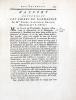 Rapport concernant les Cidres de Normandie. Par Mrs Cadet, Lavoisier, Beaumé, Berthollet et dArcet. [Lu le 17 juin 1786].. LAVOISIER (Antoine-Laurent)