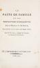 Le pacte de famille et les conventions subséquentes, entre la France & l'Espagne ; Avec des Observations sur chaque article.. DUPONT DE NEMOURS ...