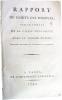 Rapport du Comité des Finances sur le compte de la Caisse d'Escompte avec le Trésor Public.. [DUPONT DE NEMOURS (Pierre-Samuel)]