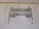 le meuble -XVIIéme,XVIIIéme et XIX éme siècle-. Alfred de Champeaux