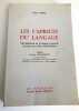 Les caprices de Langage - 250 difficultés de la langue Française classés par ordre alphabétique . Julien Teppe